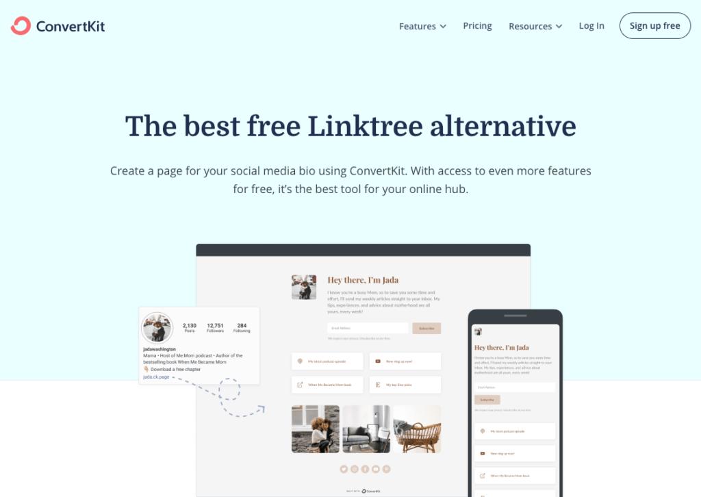ConvertKit vs. LinkTree